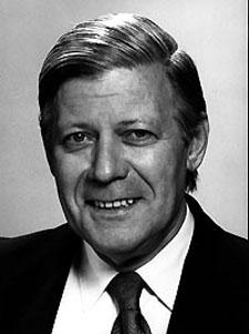 Johannes Heisig: Portrait of Chanceller Helmut Schmidt. 120 x 95 cm 1986. - Helmut_Schmidt